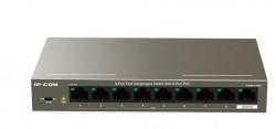 IP-COM 9P 10/100 UNMNG 8P POE SWITCH