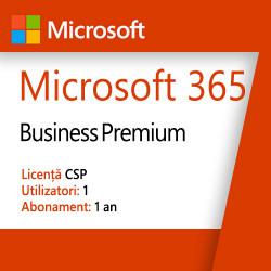 Microsoft 365, Business Premium, Licenta CSP, 5 dispozitive