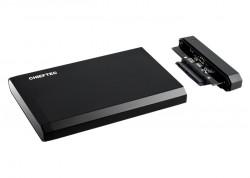 """RACK extern CHIEFTEC, pt HDD/SSD, 2.5 inch, S-ATA, interfata PC USB 3.0, aluminiu, negru, """"CEB-2511-U3"""""""