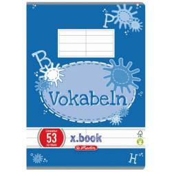 Vocabular Herlitz, 10x14cm, 32 file