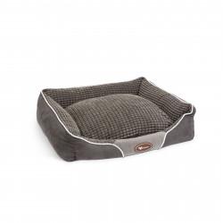Yummie - Culcuş pentru căţei - 60 x 50 cm - Gri