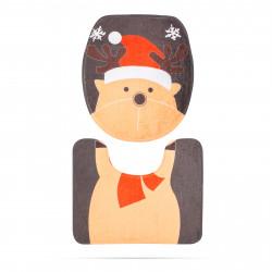 Capac de toaletă - model de sărbători, Ren
