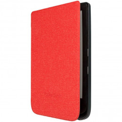 Husa protectie PocketBook PU rosie - Shell series
