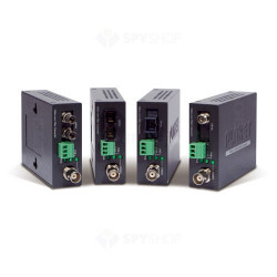 Planet Video over Fiber(WDM) converter, a pair include A & B in package