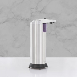 Vog und Arths - Dozator automat de săpun lichid - 220 ml- stand alone, cu baterie, crom lucios