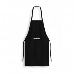 Bewello - Şorţ de bucătărie - negru - 70 x 67 cm
