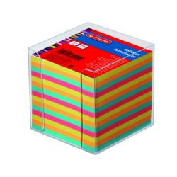 Bloc notite color Herlitz, 9x9x9 cm, 650 file cu suport