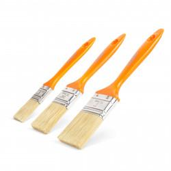 """HANDY - Set pensule, cu mâner material plastic - 3 piese 1"""" / 1,5"""" / 2"""""""