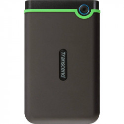 Hard disk extern Transcend Slim StoreJet 25M3S 2.5 inch 1TB USB 3.1 Grey