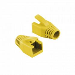 "MANSON mufe RJ-45 LOGILINK pt. cablu UTP, FTP, SFTP, Cat6, RJ-45 (T), plastic, 50 buc, ""MP0035Y"""