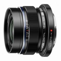 Obiectiv Olympus M.ZUIKO DIGITAL ED 12mm 1:2.0 / EW-M1220 negru