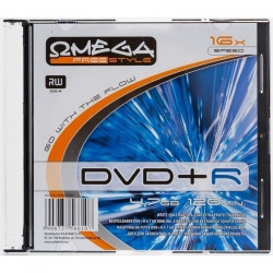 OMEGA FREESTYLE DVD+R 4,7GB 16X SLIM CASE*1 56611