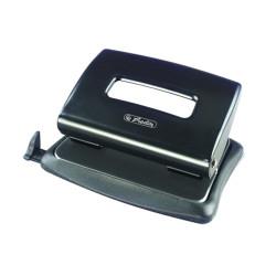 Perforator birou Herlitz, 1,6 mm, Negru