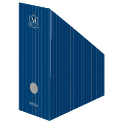 Suport dosare carton Herlitz, A4, motiv Montana IV, Albastru