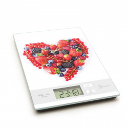 """Vog und Arths - Cântar de bucătărie, 5 kg, model """"inimă"""""""