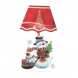Autocolant cu lanterne LED de Crăciun - 17 x 28 cm
