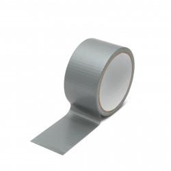 Bandă adezivă – argintiu – 8 m x 50 mm