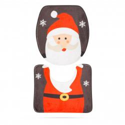 Capac de toaletă - model de sărbători, Mos Crăciun