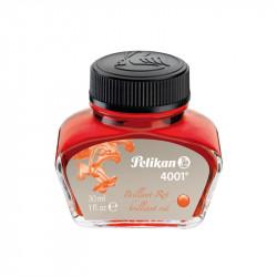 Cerneala 4001 la borcan, 30 ml, rosu lucios