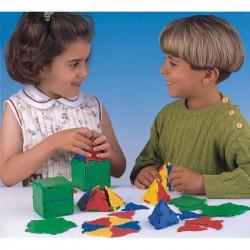 Joc de construit Conexion Miniland, 54 piese