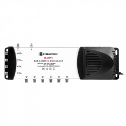 MULTISWITCH 4 SAT + TV IN 6 IESIRI CABLETECH