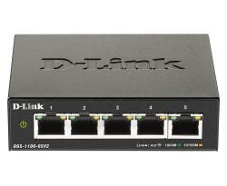 """SWITCH D-LINK SMART 5 porturi Gigabit, carcasa metalica, """"DGS-1100-05V2"""""""