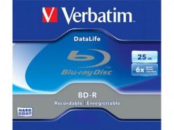 Verbatim BD-R SL Datalife 25GB 6X Jewel Case