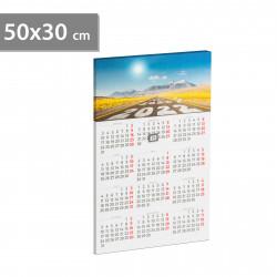 Calendar de perete cu LED - 2 x AA, 50 x 30 cm