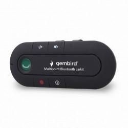 """CARKIT GEMBIRD, Bluetooth 2.1+ EDR, modul handsfree, autonomie 12 ore, conectare 2 telefoane simultan, montare la parasolar, """"BTCC-03"""""""
