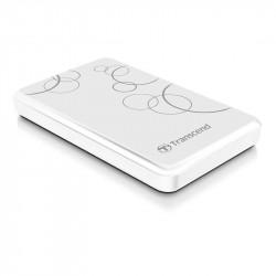 Hard disk extern Transcend StoreJet 25A3 1TB 2.5 inch USB 3.0 White
