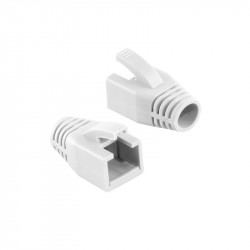 "MANSON mufe RJ-45 LOGILINK pt. cablu UTP, FTP, SFTP, Cat6, RJ-45 (T),plastic, 50 buc, ""MP0035W"""