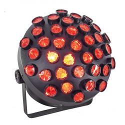 MUSHROOM RGB LED 27X1.5W CONTROL DMX