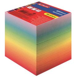 Bloc notite color Herlitz, 9x9x9 cm, 800 file curcubeu