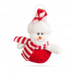 Decor de Crăciun - om de zăpadă - 14 x 16 cm