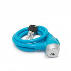 Lacăt pt. bicicletă tip cablu de oţel Ø10 mm