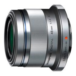 Obiectiv Olympus ET-M4518, 45mm, 1:1.8, Silver