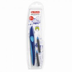 Roller My Pen Albastru Inchis/ Albastru Deschis 1