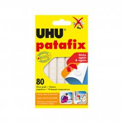 UHU Patafix lipici alb din plastic - 80 buc / pachet