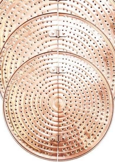 Sita Cupru Anti-Lipire pentru Alambic 40 Litri, 36,5cm