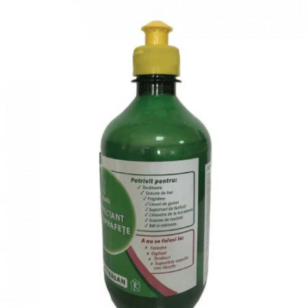 Dezinfectant Multisuprafete 500ml, formula speciala concentrata 0.1L la 5L, Antibacterian Covid-19