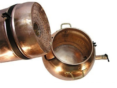 Cazan cu Coloana Distilare Uleiuri Esentiale, Bauturi Aromatice, 80 Litri