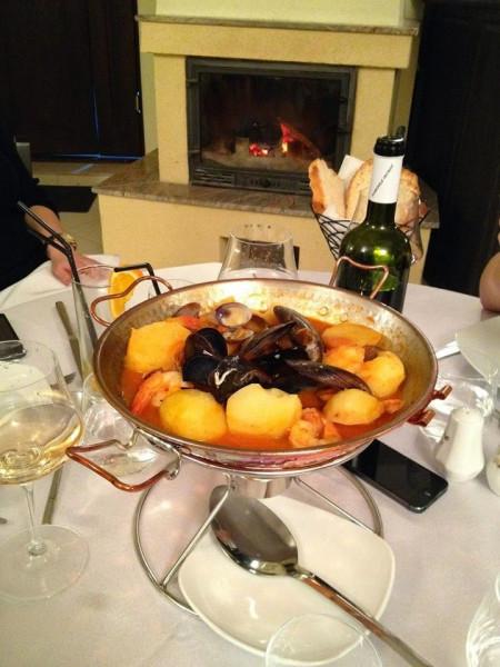 Cataplana Ø27cm - Vas Dublu, Fructe de Mare, Porc, 3-4 Persoane