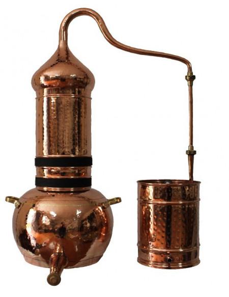 Cazan cu Coloana Distilare Uleiuri Esentiale, Bauturi Aromatice, 200Litri