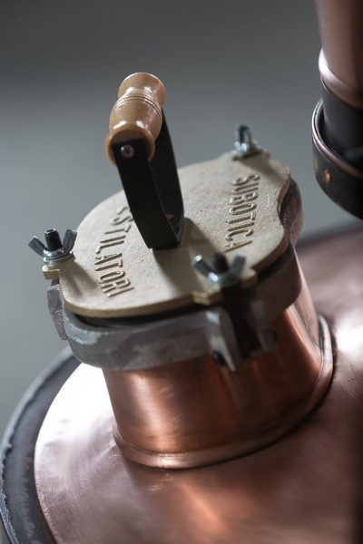 Cazan Tuica 160 Litri Exclusive 5mm + Amestecator Electric