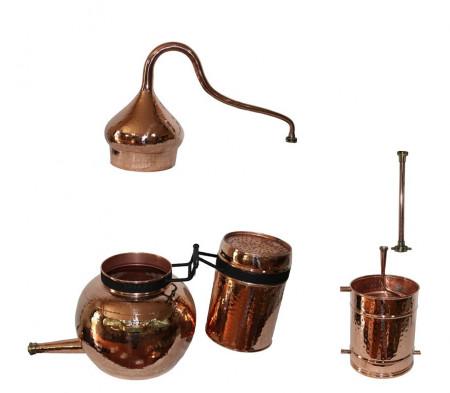 Cazan cu Coloana Distilare Uleiuri Esentiale, Bauturi Aromatice, 100 Litri
