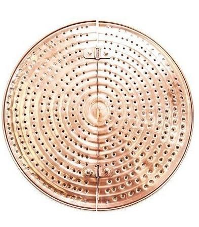 Sita Cupru Anti-Lipire pentru Alambic 200-250 Litri, 63,5cm