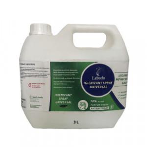 Igienizant 70% Alcool+Glicerina Bidon 3 Litri, formula completa protectoare