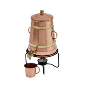 Ibric din Cupru - Fierbator/Incalzitor Ceai, Cafea, Vin 1,5L