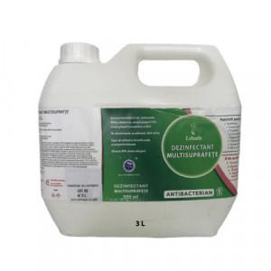 Dezinfectant Multisuprafete Bidon 3 Litri, formula concentrata, Antibacterian