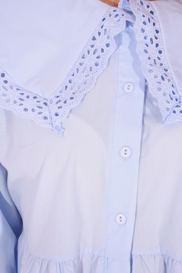 Camasa bleu BabyDoll-E-